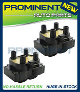 2pcs Ignition Coil Replacement For 99-02 Land Rover Range Rover Discovery Uf306