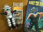 Robby The Robot Tin Toy Wind Up Japan Vintage Figurine Figure Collectible Rare