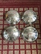 1946 Lincoln All Models Set Of Four 12andrdquo Oem Hubcaps