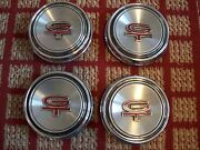 Ford Mustang Gt  Set Of Four Oem Center Caps Embossed With Letters