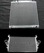 Performance Intercooler And Radiator Fit 99-03 Ford F-250/f-350 7.3l Powerstroke
