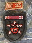 Theater Hand Made Vietnam Special Forces Macv Lldb Arvn Ld/23 Tiger Force Patch