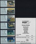 Post And Go Mint 2021 2020 2019 Guernsey Planes Fishing Boats Jersey Flowers Etc