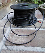250 Ft Black Rayon Cloth Electrical Wire Antique Old Cord Lamp Parts Restoration