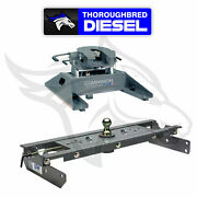 Bandw Hitches Companion 5th Wheel Hitch Rvk3500 With Gnrk1111 Goosneck Hitch
