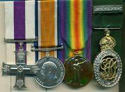 Wwi Mc Group Of 4 Awarded To Captain R F Studd 42nd Battalion Royal Highlanders