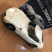 Deagostini Toyota 2000gt Diecast Model Car Japan Rare Collectible Book F/s