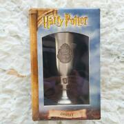 Harry Potter Official Collectible Goblet Wine Cup Replica Rare New Japan F/s