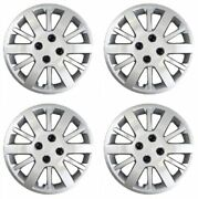 Coast To Coast Iwc45315s Set Of 4 Silver 15 Wheel Covers For 05-10 Chevy Cobalt