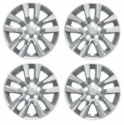 Coast To Coast Iwc50516s Set Of 4 Silver 16 Wheel Covers For Nissan Altima