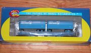 Athearn 92399 50' Flat Car With Two 25 Trailers Great Northern Gn 60236 Sky Blue