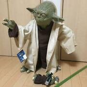 Yoda Life Size Decor Star Wars Movie Collectible 2000 Limited Very Rare Japan Fs