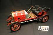 Pocher Fiat F-2 130 Hp Racer With Spare Tires 1907 18 Red Built Kit