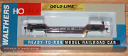 Walthers 932-7884 Gold Line 90 Ton Gsc Depressed Center Flat Car Soo Line 54005