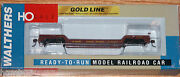 Walthers 932-7885 Gold Line 90 Ton Gsc Depressed Center Flat Car Union Pacific