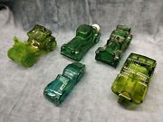 Lot Of Collectible Avon Auto Automobile Cars Decanters Cologne Bottles