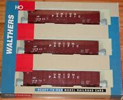 Walthers 932-34054 61' Wood Chip Car With Loads 3-pack Union Pacific Up
