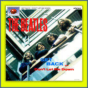 The Beatles Get Back Alternate 45 Picture Sleeve 2