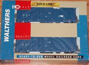 Walthers 932-27117 Gold Line Gunderson 50' Hi-cube Paper Boxcar 2-pack Mccloud