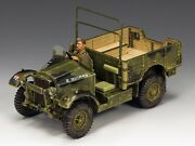 King And Country Soldiers Wwii Morris Cs8 Truck Bef Collectible Vehicle Fob091