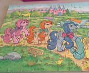 """Vintage My Little Pony To Castle"""" 100-piece Puzzle In Box"""