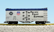 Usa Trains Pacific Fruit Express Sp/up Refrigerator Car G Scale Trains R16005a