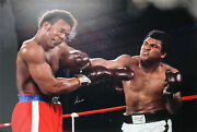Muhammad Ali Authentic Signed 30x40 Photo Vs. George Forman Psa/dna Itp 4a40919