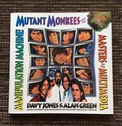 Rare Signed 1st Edition 1992 Mutant Monkees By Davy Jones And Alan Green