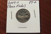 2004-s Jefferson Nickel -- Peace Medal High-end Proof - Beautiful Coin