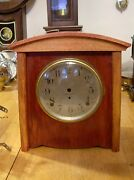 Seth Thomas 8 Day Mantel Clock Case. Parts Or Repair Case Only