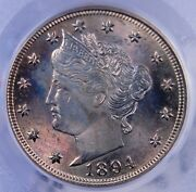1894 Liberty V Nickel Pcgs Ms 64 Excellent Luster And Color Well Struck
