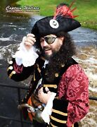 Custom Made Pirate Frock Coat With All The Bells And Whistles