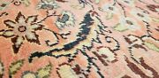 Exquisite Vintage Natural Dyes Lambs Wool Pile Legendary Hereke Rug 8and0392andtimes12and039