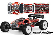 Rc Body Graphics Kit Decal Sticker Wrap For Proline Bulldog Mbx6-t Hatter S R
