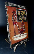 Slaves Of The Empire Aaron Travis Steven Saylor Rare Signed 1st Edition Illus
