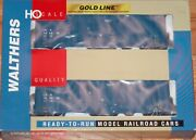 Walthers 932-27121 Gold Line Gunderson 50' Hi-cube Paper Boxcar 2-pack Cna Blue