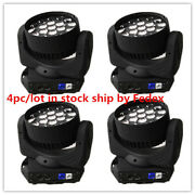 4pc/lot 4in1 Zoom Moving Head 19x15w Led Beam Moving Head Stage Light