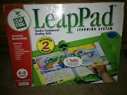 Leap Frog Leappad Learning System - Includes 2 Books - 4-8 Years - New