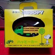 Tomy Snoopy Toy Happy Car Mini Diecast Figure Figurine Made In Japan Vintage F/s