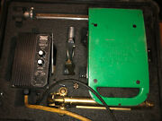 Mathey Dearman Magnacut Xm Cutting/beveling Tool With Torch And Case Nice