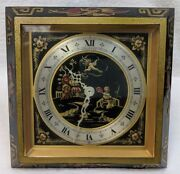 And Co. Chelsea Clock - Asian Style Hand-applied Lacquer