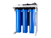 Commercial Grade Reverse Osmosis Water Filter System Up To 1000 Gpd Booster Pump