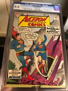 Action Comics 252 Dc 1959 Cgc Vg 4.0 1st Appearance Supergirl