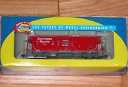 Athearn 74664 Bay Window Caboose Southern Pacific Sp 1741 Red