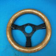 Wood Handle Car Parts Vintage Model 29 Size Used Very Rare Collectible Decor F/s