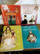 Vintage Lot 4 Collector's Dolls Photos Id Value Guide Books Madame Alexander