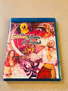 Twilight Time Blu-ray 'the Golden Voyage Of Sinbad' Limited Edition Sealed New