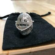 Trygod Ring Jewelry Men Silver925 Rare Kabuto Skull Gift Collectible F/s Japan