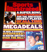 March 11 1996 Sports Illustrated Wayne Gretzky And Neil Oand039donnell Cover Ex
