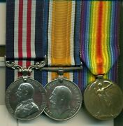 A Wwi Mm Group Of 3 Awarded To Lance-corporal J. Wooder, 18th Western Ontario